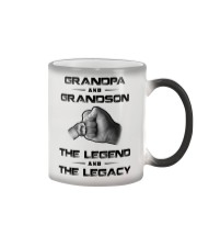 Grandpa - Grandson Color Changing Mug thumbnail