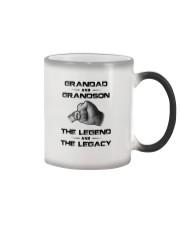 Granddad - Grandson Color Changing Mug thumbnail