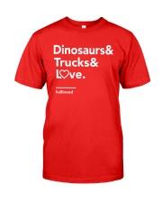 Valentine Shirt for Boys Classic T-Shirt thumbnail