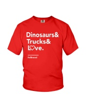 Valentine Shirt for Boys Youth T-Shirt front