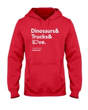 Valentine Shirt for Boys Hooded Sweatshirt thumbnail