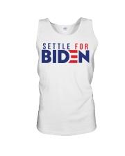 Settle For Biden Shirt Unisex Tank thumbnail