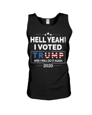 Hell Yeah I Voted For Trump 2020 T Shirts Unisex Tank thumbnail