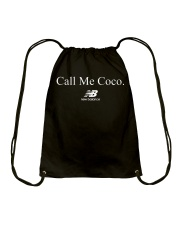 Call me Coco Tee Shirt Drawstring Bag thumbnail