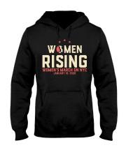 Women Rising New York City T Shirt Hooded Sweatshirt thumbnail
