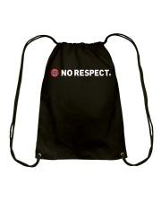 UEFA Mafia No Respect T Shirt Drawstring Bag thumbnail