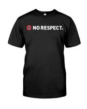 UEFA Mafia No Respect T Shirt Classic T-Shirt front