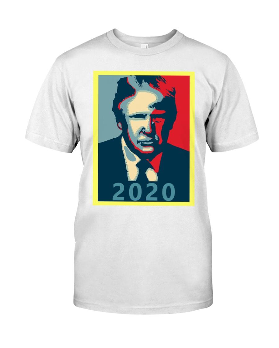 Trump 2020 Campaign T Shirt Premium Fit Mens Tee