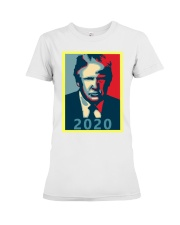 Trump 2020 Campaign T Shirt Premium Fit Ladies Tee front