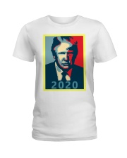 Trump 2020 Campaign T Shirt Ladies T-Shirt thumbnail