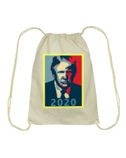 Trump 2020 Campaign T Shirt Drawstring Bag thumbnail