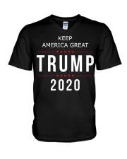 Trump 2020 campaign Shirt V-Neck T-Shirt thumbnail