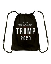 Trump 2020 campaign Shirt Drawstring Bag thumbnail