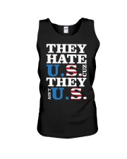 They hate us they ain't us trump t shirt Unisex Tank thumbnail