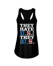They hate us they ain't us trump t shirt Ladies Flowy Tank thumbnail