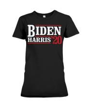 Biden Harris 2020 Shirt Premium Fit Ladies Tee thumbnail