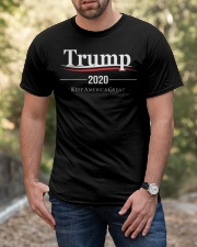 Trump 2020 Election Campaign T Shirt Classic T-Shirt apparel-classic-tshirt-lifestyle-front-53