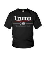 Trump 2020 Election Campaign T Shirt Youth T-Shirt tile
