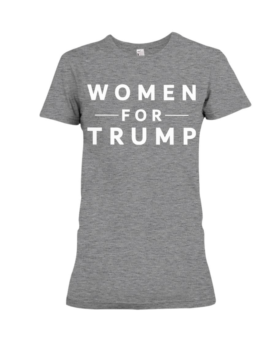 women for trump 2020 t shirt Premium Fit Ladies Tee