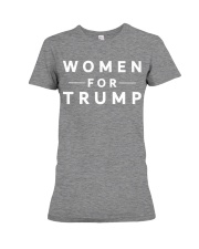 women for trump 2020 t shirt Premium Fit Ladies Tee front
