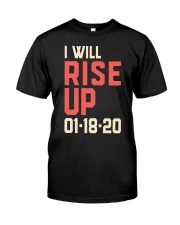 I will Rise UP Premium Fit Mens Tee thumbnail