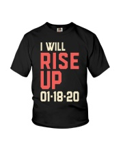 I will Rise UP Youth T-Shirt thumbnail