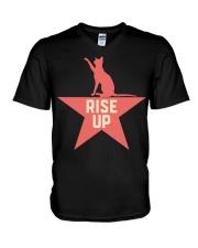 Rise Up  V-Neck T-Shirt thumbnail