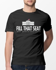 Fill that seat T Shirt Classic T-Shirt lifestyle-mens-crewneck-front-13