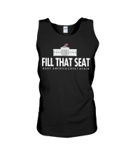 Fill that seat T Shirt Unisex Tank thumbnail