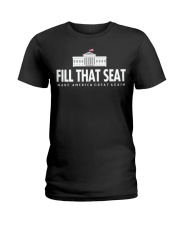 Fill that seat T Shirt Ladies T-Shirt thumbnail