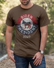 Biden President  2020 T Shirt Classic T-Shirt apparel-classic-tshirt-lifestyle-front-53