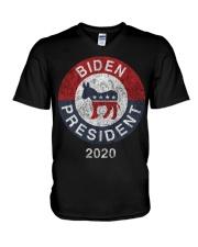 Biden President  2020 T Shirt V-Neck T-Shirt thumbnail
