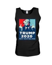 Trump 2020 fuck your feelings T shirt Unisex Tank thumbnail