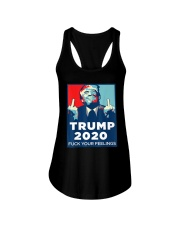 Trump 2020 fuck your feelings T shirt Ladies Flowy Tank thumbnail