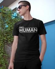 Pro -Human T Shirt Classic T-Shirt apparel-classic-tshirt-lifestyle-17