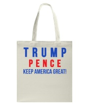 Trump pence 2020 t shirt Tote Bag thumbnail