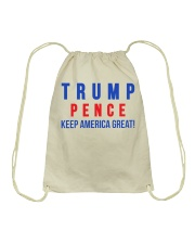 Trump pence 2020 t shirt Drawstring Bag thumbnail