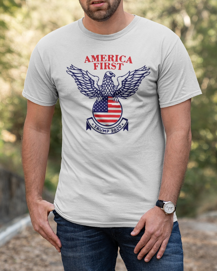 America First Trump 2020  Classic T-Shirt