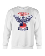 America First Trump 2020  Crewneck Sweatshirt thumbnail