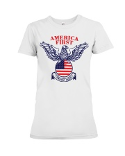 America First Trump 2020  Premium Fit Ladies Tee thumbnail