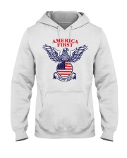 America First Trump 2020  Hooded Sweatshirt thumbnail