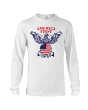 America First Trump 2020  Long Sleeve Tee thumbnail