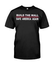 Build The Wall -Safe America Again Premium Fit Mens Tee thumbnail