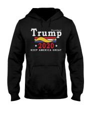 Trump 2020 Shirt Hooded Sweatshirt thumbnail