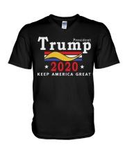 Trump 2020 Shirt V-Neck T-Shirt thumbnail