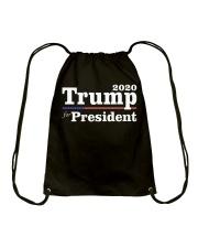 Trump  2020 Tee Shirt Drawstring Bag thumbnail