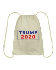Trump  2020  t shirt Drawstring Bag thumbnail