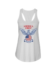 Trump  2020  t shirt Ladies Flowy Tank thumbnail