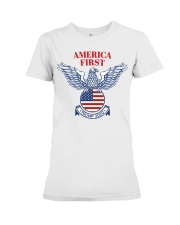 Trump  2020  t shirt Premium Fit Ladies Tee tile