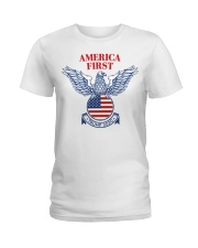 Trump  2020  t shirt Ladies T-Shirt thumbnail